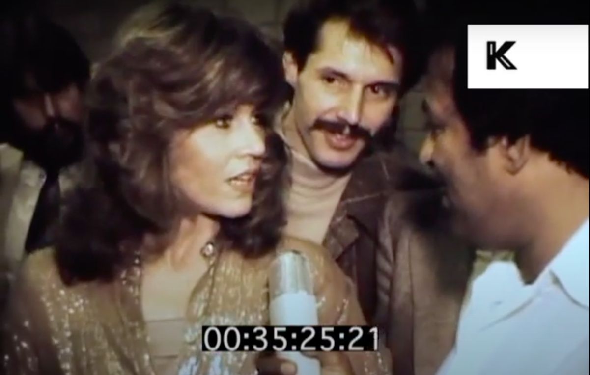 Jane Fonda was setting the standard for LGBT allies way back in 1979