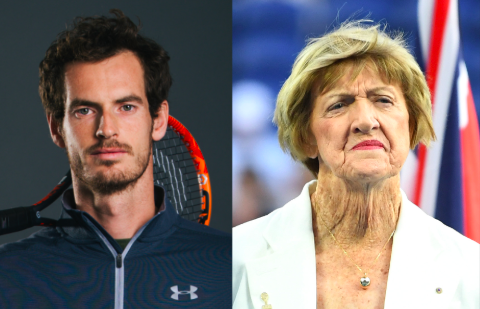 Andy Murray, Margaret Court