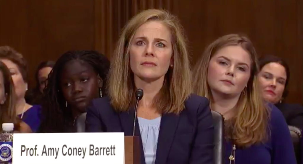 Catholic potential supreme court nominee Amy Coney Barrett