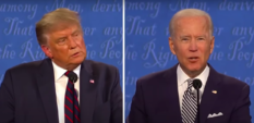 Not a single question on LGBT rights asked during Trump-Biden debate