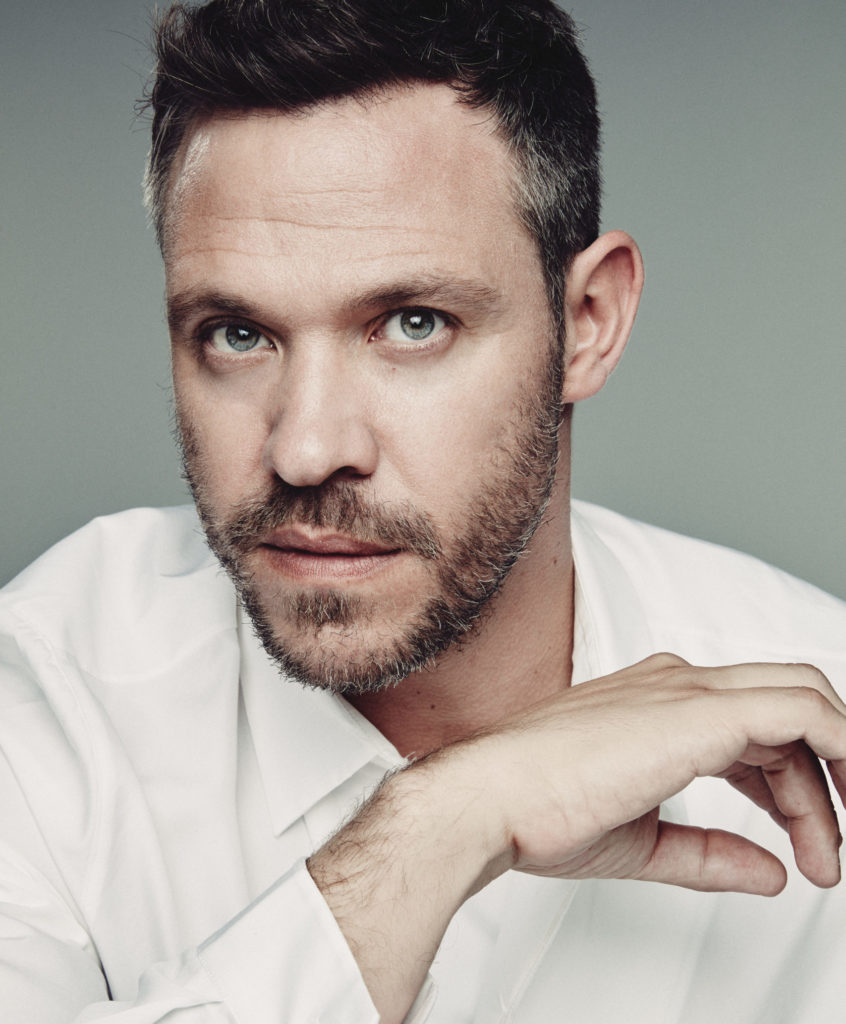 Will Young in a white shirt