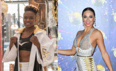 Several Strictly Come Dancing pros, including Katya Jones (R), are reportedly vying to be paired with Nicola Adams. (Getty)