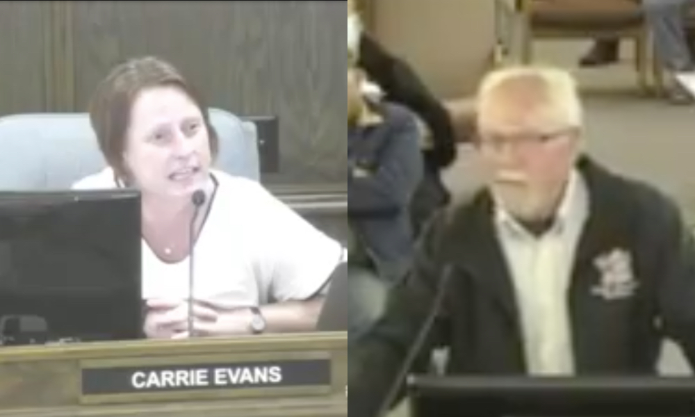 Councillor comes out as gay while annihilating bigot upset over a Pride flag