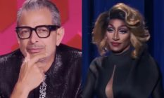 Jeff Goldblum and Jaida Essence Hall on Drag Race