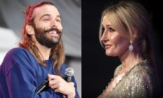 Jonathan Van Ness and JK Rowling
