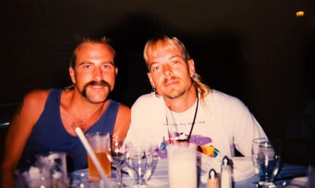 Tiger King star Joe Exotic with first husband Brian Rhyne