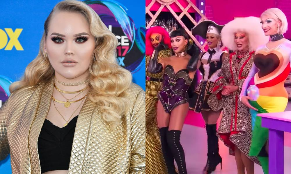 NikkieTutorials and the cast of Drag Race Holland