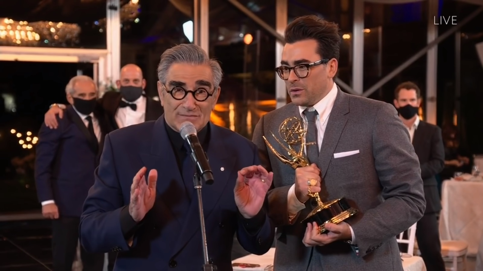 Schitt's Creek brings in a record-breaking haul at the Emmys