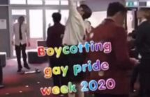 A private school in New Zealand has condemned students who posted anti-gay messages in response to a Pride Month celebration