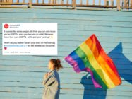 After an anti-trans figurehead said young people shouldn't be 'labelled' LGBT+, Stonewall asked users to share when they realised they were queer. (Stock photograph via Elements Envato)