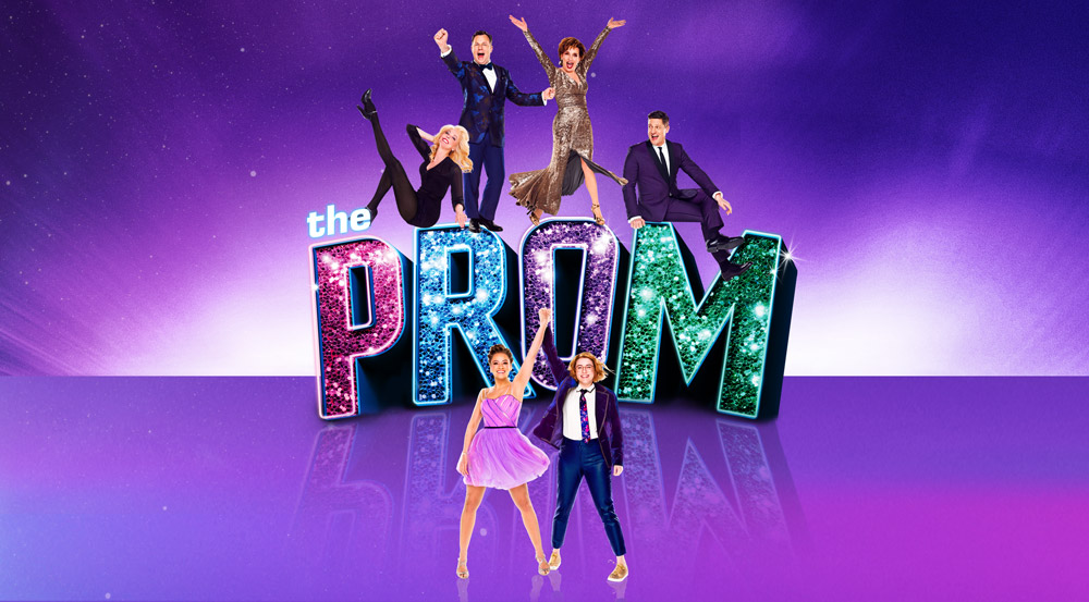 The poster for the original Broadway production of The Prom