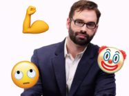 Matt Walsh joked – we hope, at least – that men shouldn't use emojis. (Facebook/Emojipedia)
