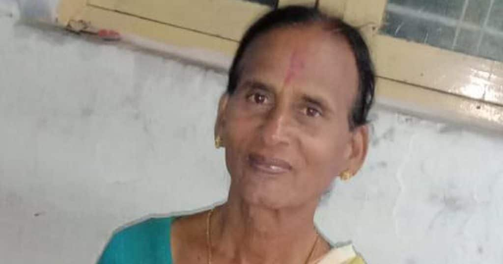 Sangeetha, a trans elder who helmed a local activist group and sought to create opportunities for trans locals left threadbare by the pandemic. (Facebook)