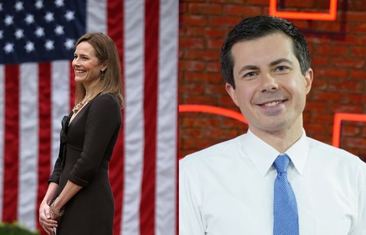 Amy Coney Barrett Pete Buttigieg