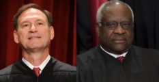 Justices Samuel Alito and Clarence Thomas