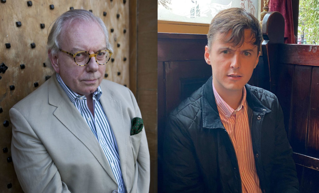 David Starkey and Darren Grimes