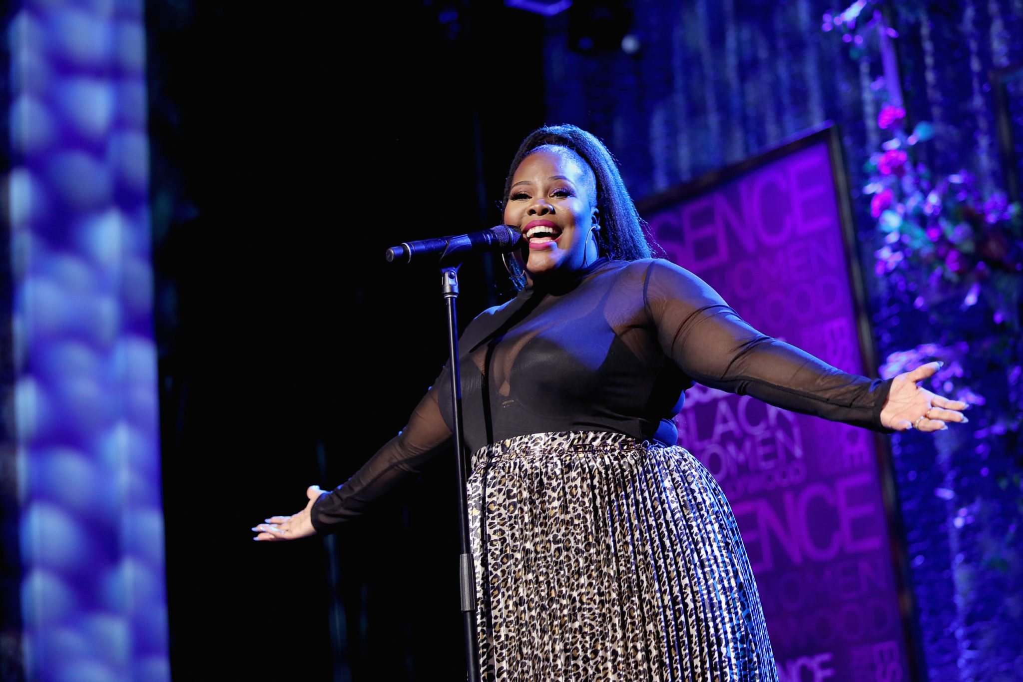 Glee star Amber Riley reveals disgusting attack by vile Trump supporter who spat on her car