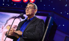 Top 10 CNN Hero Roger Montoya speak onstage CNN Heroes at American Museum of Natural History on December 08, 2019 in New York City.