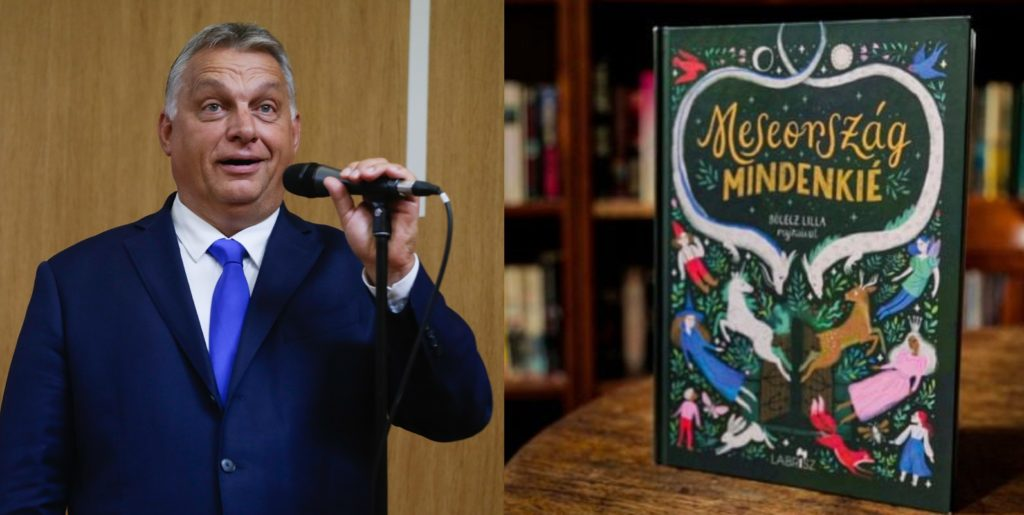 Hungarian Prime Minister Viktor Orban lashed out at the book