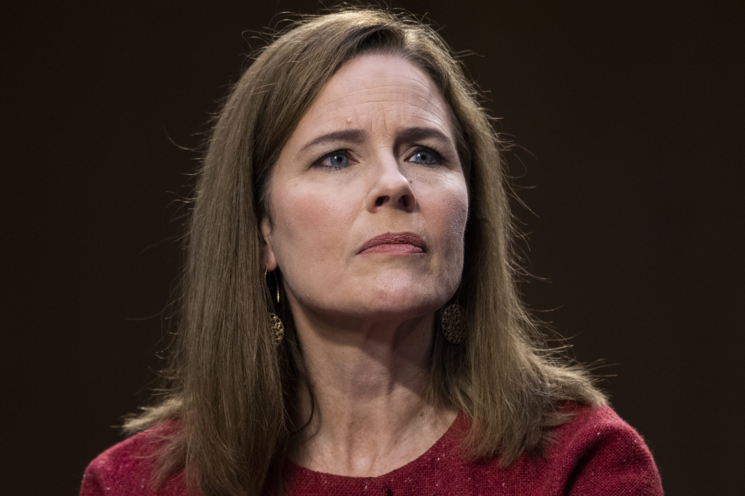 Supreme Court justice nominee Amy Coney Barrett testifies on the second day of her Senate Judiciary Committee confirmation hearing.