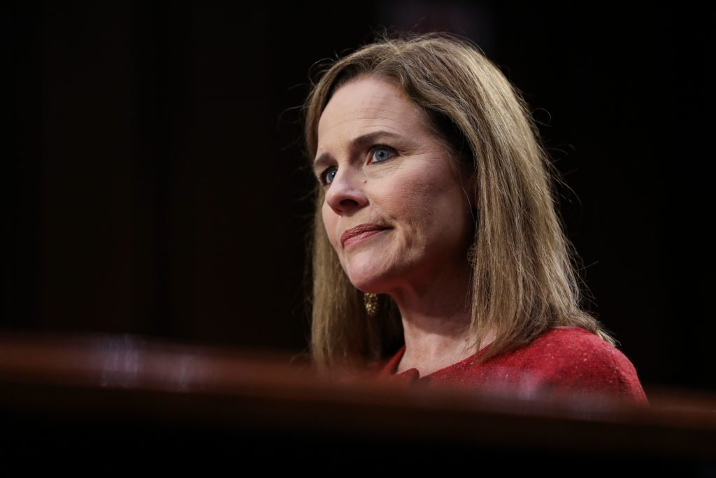 Trump nominee Amy Coney Barrett backed by almost a third of Democrats