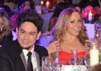 Prince Azim of Brunei with Mariah Carey, London, 2011. (Phil Dent/Redferns)