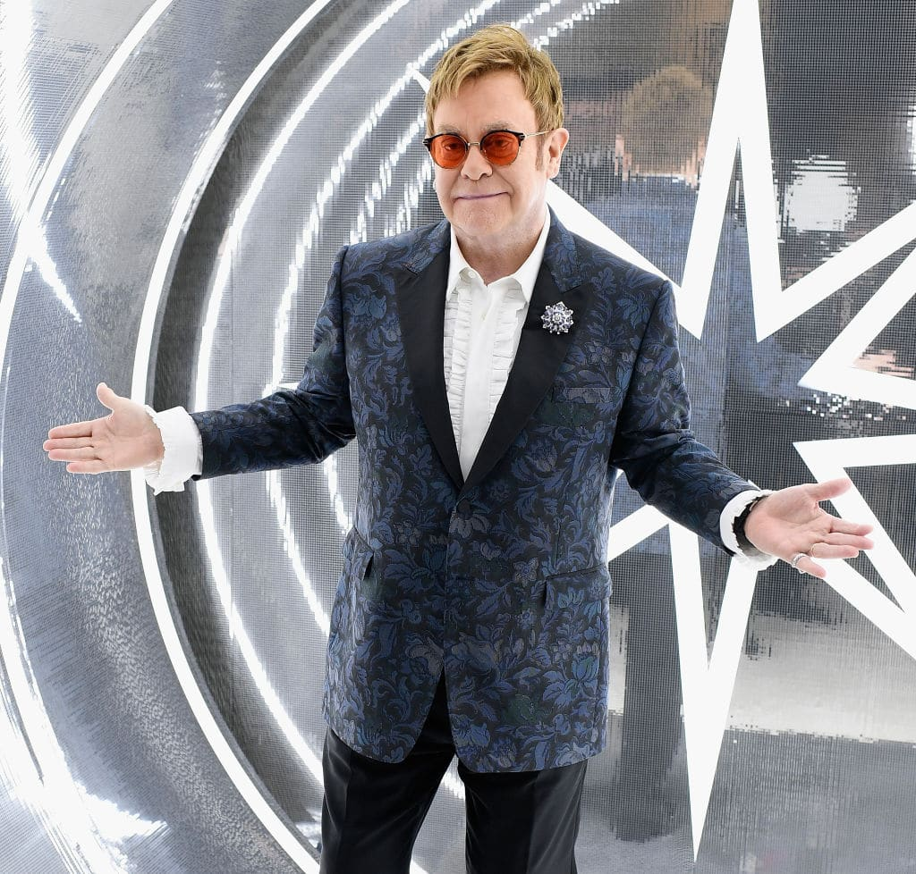 Sir Elton John has had a long-running war of words with Vladimir Putin