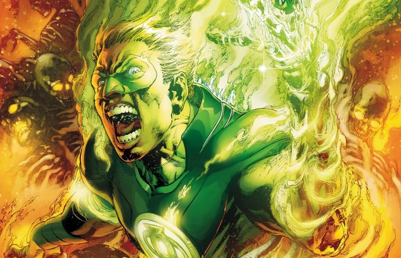 DC superhero Green Lantern comes out as gay to his two kids – and Wonder Woman