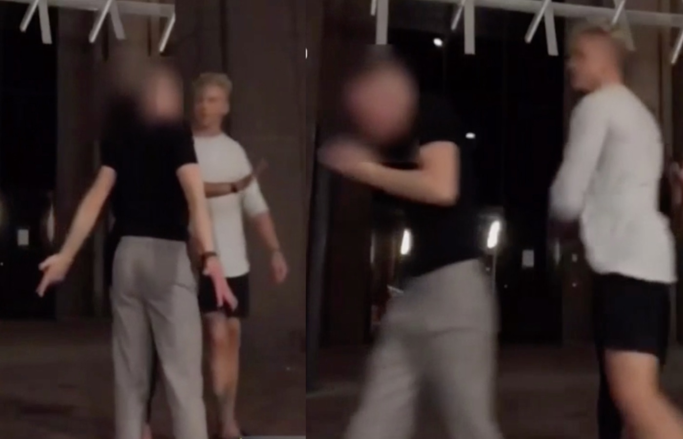 Gay man being brutally beaten on the street while filming a TikTok