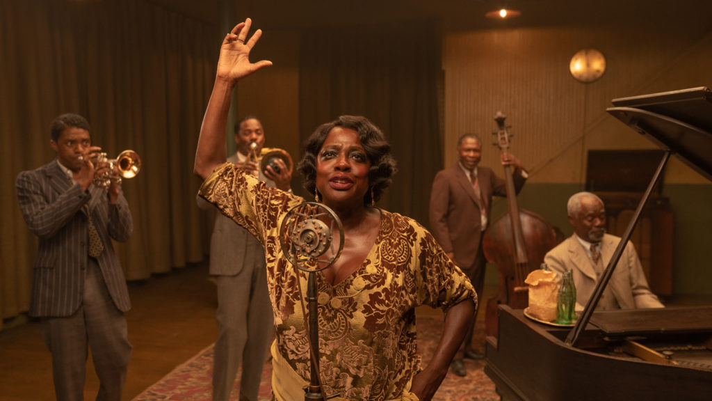Viola Davis as Ma Rainey in Ma Rainey's Black Bottom