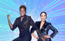Nicola Adams (L) and her Strictly Come Dancing partner, Katya Jones. (Strictly Come Dancing/BBC)