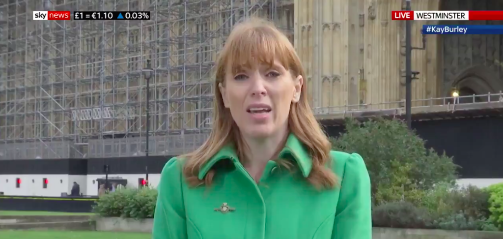 Angela Rayner: Rosie Duffield must 'reflect' on her transgender comments