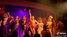 Local drag queens in Perth, Australia, performed a number inspired by Lady Gaga's Chromatica and it deserves to win every single Tony award. (Screen capture via TikTok)
