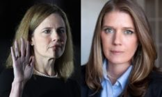 Amy Coney Barrett and Mary Trump