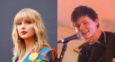 Taylor Swift's song, 'Betty', was transformed into a sapphic love song by Grace Petrie (R). (Getty)