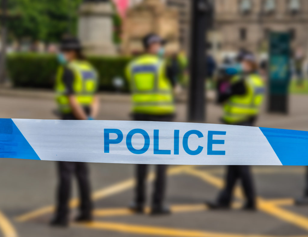 The officers were secretly recorded using homophobic, transphobic and racist slurs