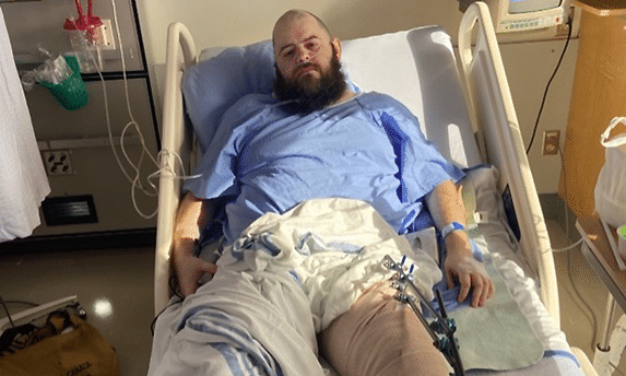 Homophobic street preacher who 'intentionally' broke the leg of vigilante who tried to stop his hate charged with assault