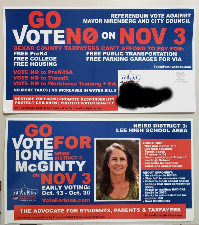 Gay Texas school board election: The 'vile' anti-gay leaflets have been called out