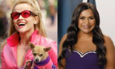 Reese Witherspoon as Elle Woods and Mindy Kaling