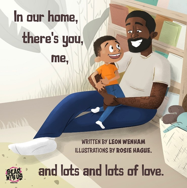 Upcoming story book You, Me and Lots and Lots of Love is based on Leon's experience as an adoptive dad