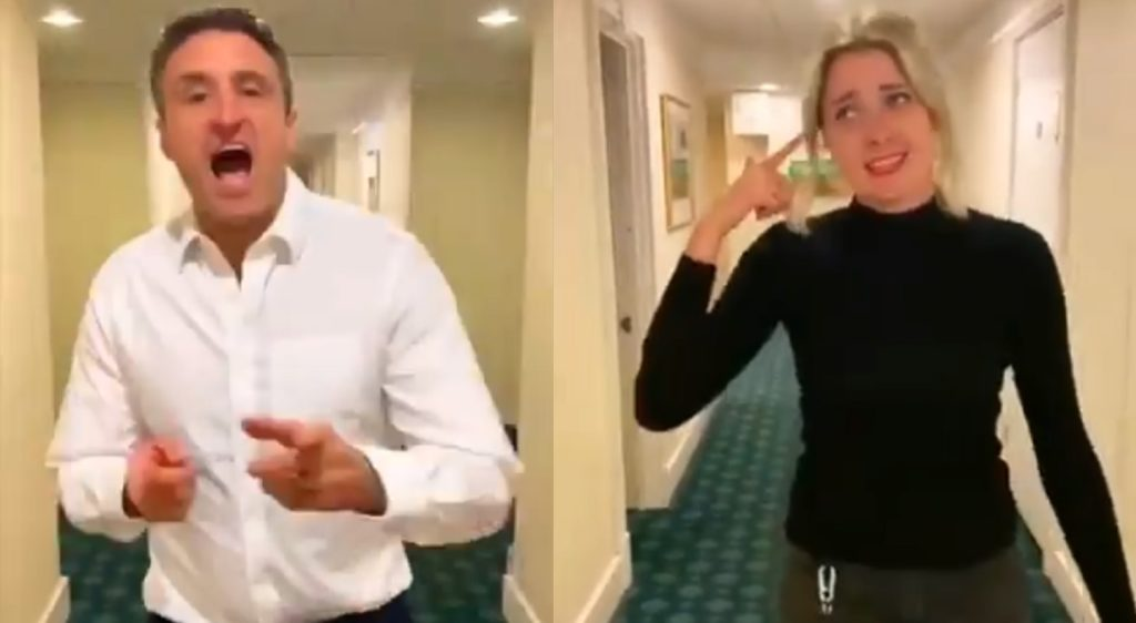 Tory MPs Dehenna Davison and Ben Everitt went head-to-head in a lip sync to Taylor Swift's 'Shake It Off'