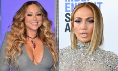 Mariah Carey and Jennifer Lopez
