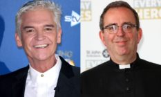 Phillip Schofield (L) and Rev. Richard Coles (R)
