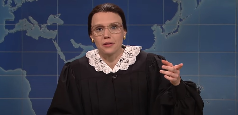 Kate McKinnon had played Ruth Bader Ginsburg on Saturday Night Live for years