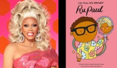 Following Elton John and David Bowie, RuPaul will be the latest lGBT+ icon to appear on the Little People, Big Dreams series. (VH1/The Quarto Group)
