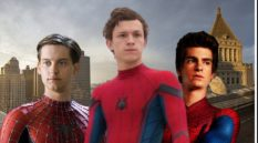(From L-R): Tobey Maguire, Tom Holland and Andrew Garfield are all set to appear in the upcoming Spider-Man 3 film, reports say. (IMDb)