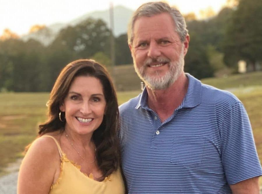 A former Liberty University student has alleged that Jerry Falwell Jr and his wife Becki used to play a sex ranking game on campus