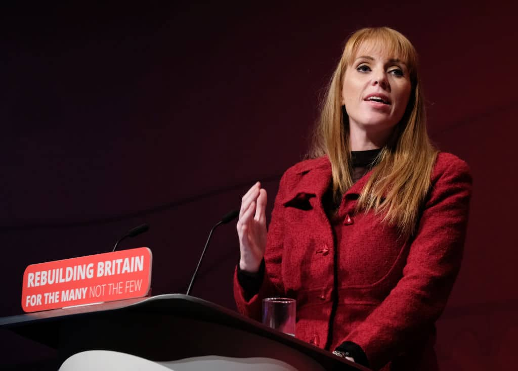 Labour's Angela Rayner refuses to apologise for calling Tories 'homophobic scum'