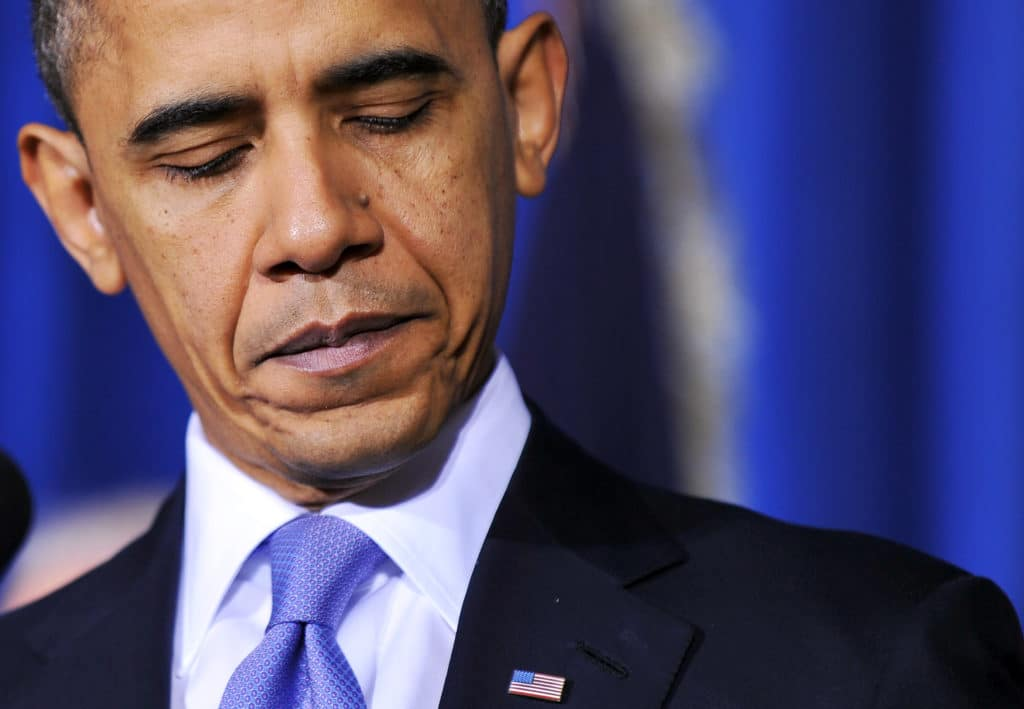 US President Barack Obama speaks before signing the Don't Ask, Don't Tell Repeal Act of 2010 into law