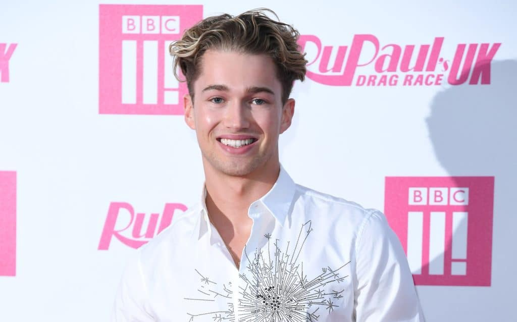 I'm A Celeb star AJ Pritchard attends the RuPaul's Drag Race UK launch